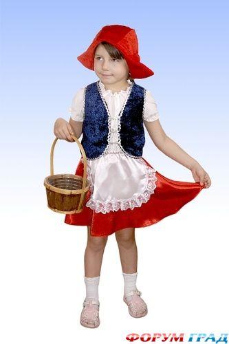 """""""Красная шапочка """" - сказка, известная всем детям.  А образ для девочки весьма даже симпатичный, тем более что очень..."""