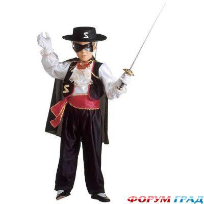 Карнавальный костюм зорро своими руками