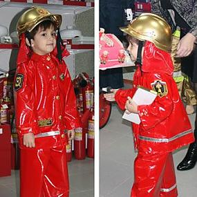 Костюм пожарного детский своими руками в картинках