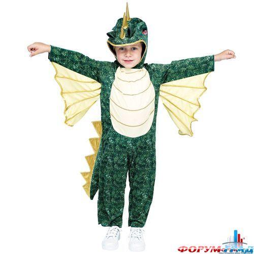 Новогодний детский костюм дракона