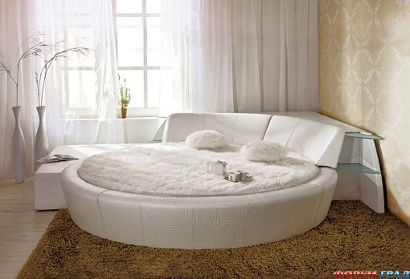 Купить большую круглую кровать