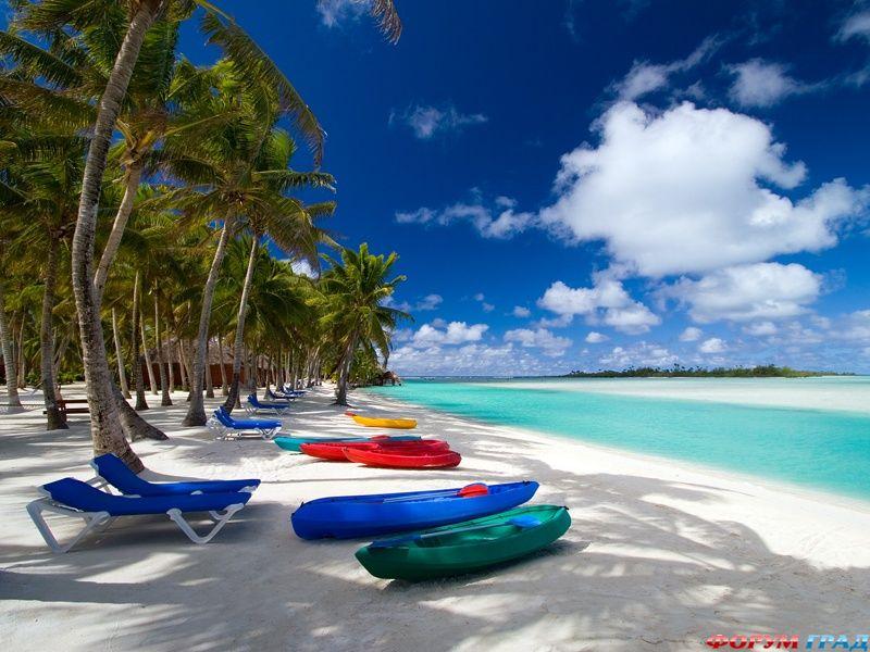Туризм острова кука