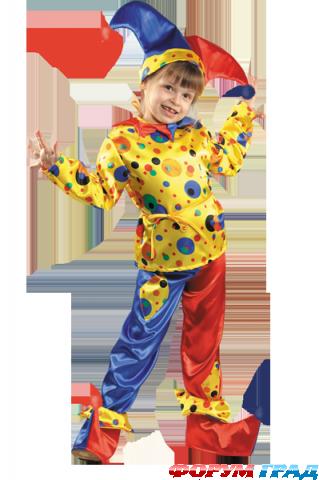 выкройки костюма петрушки для детей