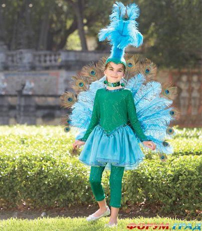 Платья с хвостом павлина