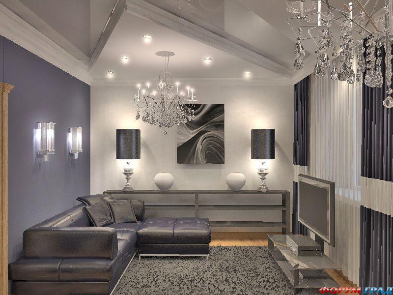 Дизайн в серых тонах фото