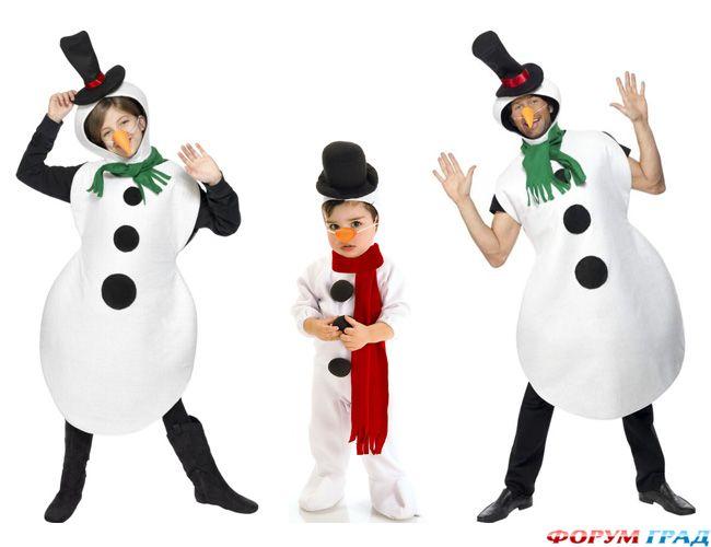 Костюм снеговика выкройка - Выкройки одежды