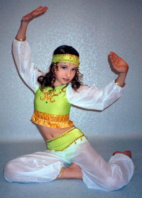 Как своими руками сшить костюм восточной красавицы