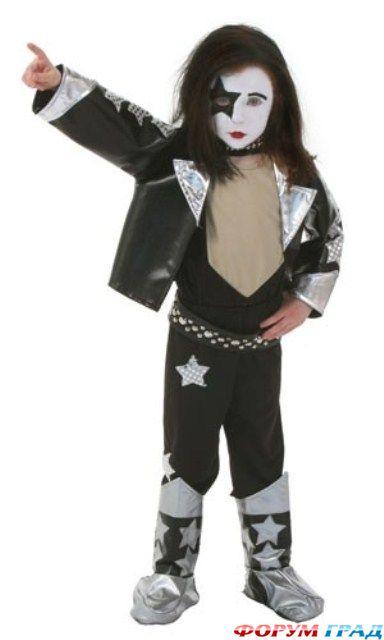 Рок музыкант прокат детского костюма