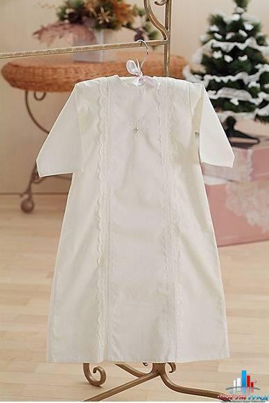 Крестильная рубашка для мальчика 4 года
