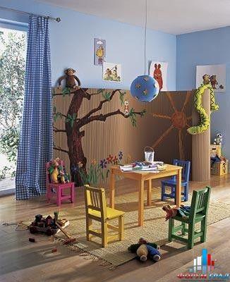 Дизайн групповой комнаты в детском саду