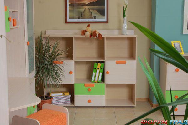 Стеллажи для детской комнаты фото