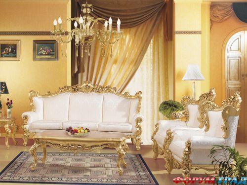 Элитная итальянская мебель барокко Silik. Вешалка для одежды