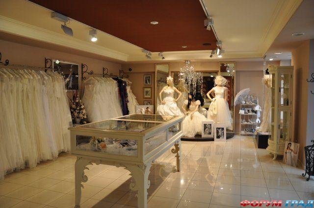 Wedding Saloon :: Оформление свадебного салона - Свадебные платья