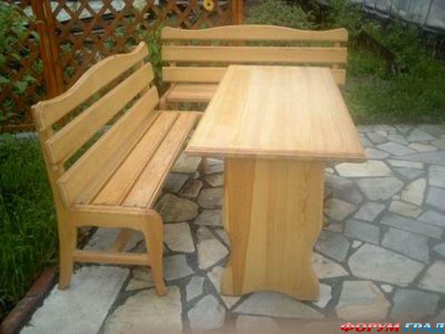 завершении строительства дачного дома. деревянная мебель для дачи фото