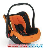 ABC Design.  Автокресло-переноска RIDER 2010, цвет Orange-Black.
