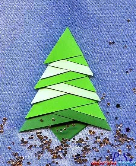 Схема мотива открытки. мастер-класс с детьми. оригами в открытке.