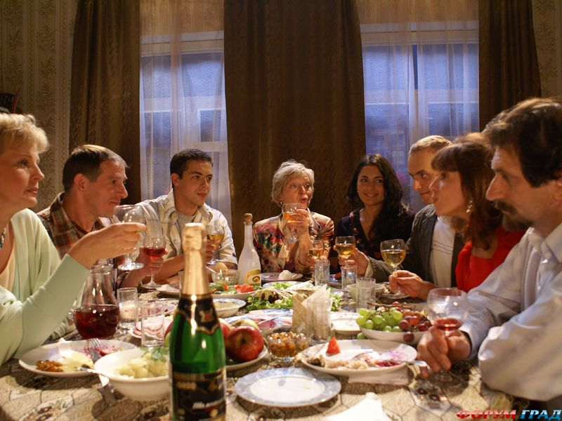 Тост при встрече гостей