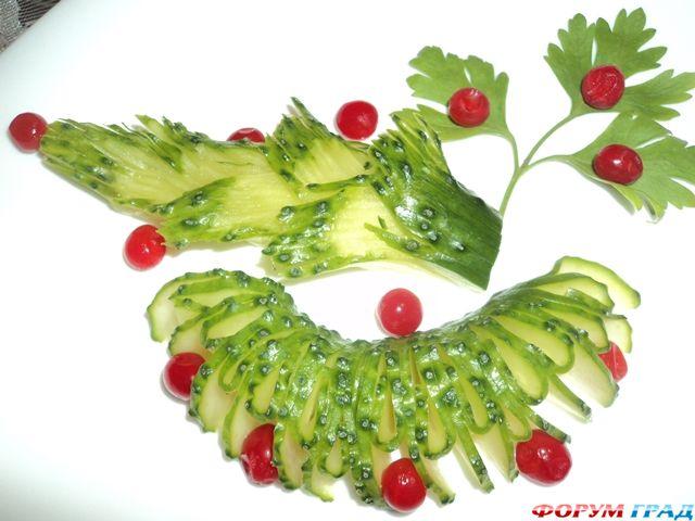 Несколько правил в украшении блюд Женское хобби