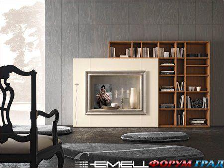Стеллажи для дома - весьма удобная мебель для размещения книг, коллекций...