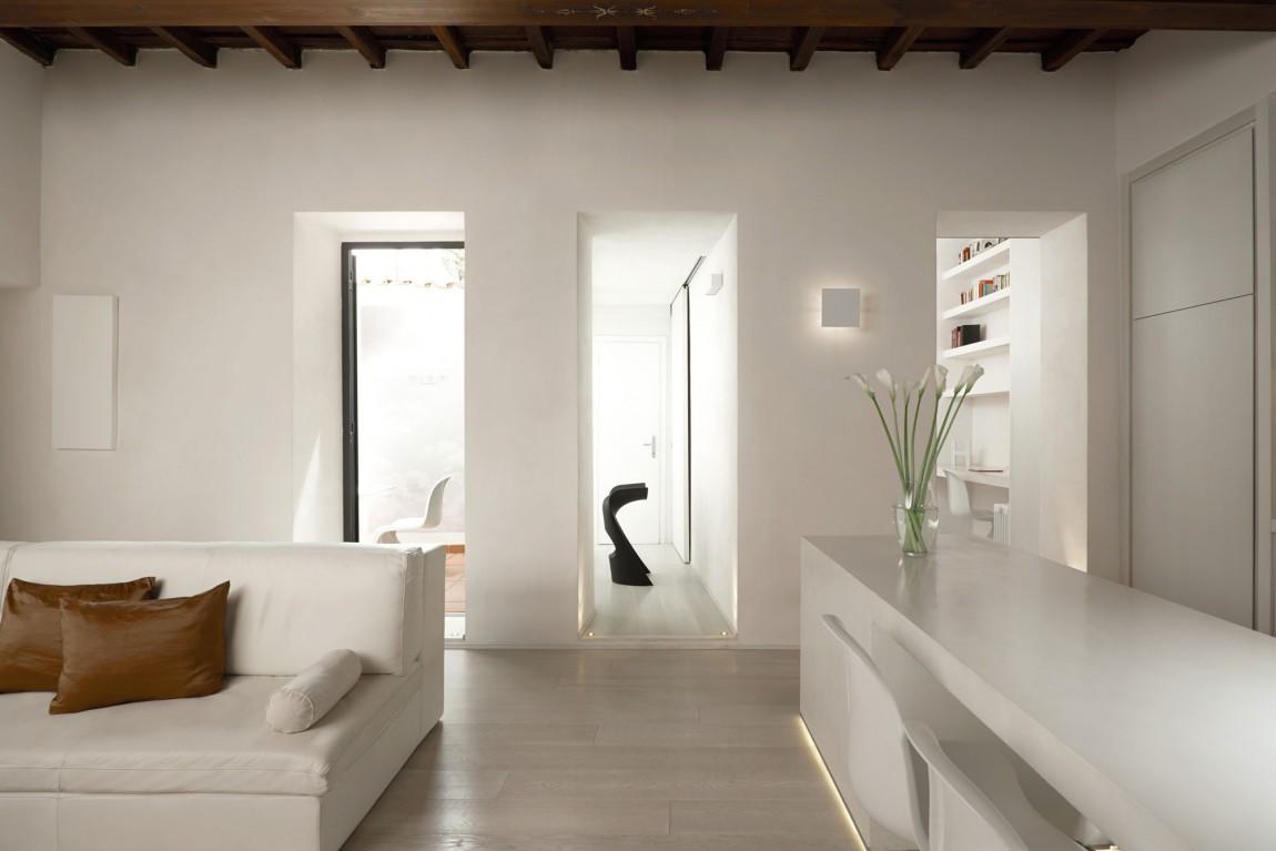 Лучшие интерьеры домов: элегантный Casa G в Риме