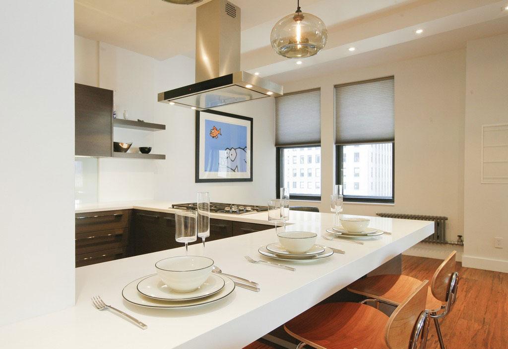 Интерьер дома в американском стиле: особняк на Манхэттене от Bazzèo