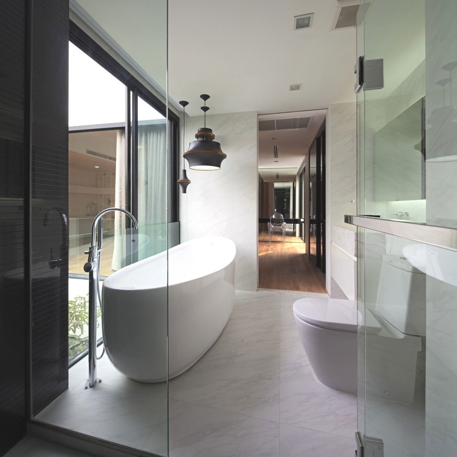 Стильный и элегантный дом YAK10 в Бангкоке