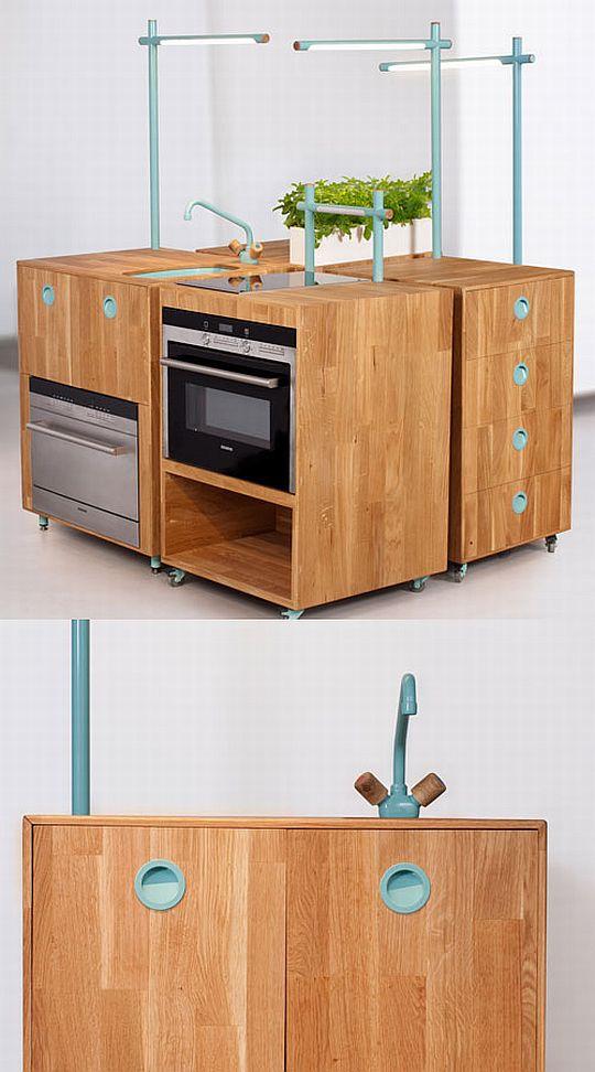 Кухня из двересных отдохов