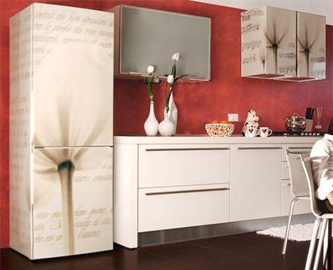 Рисунки на кухонной мебели