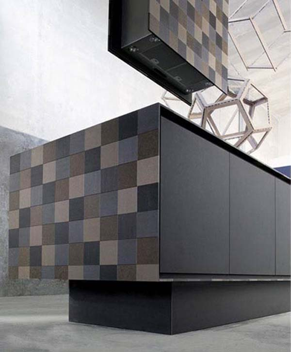 Мебель из бумаги для кухни