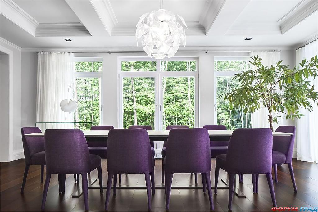 Дизайн интерьера частного дома в Канаде от Gestion René Desjardins