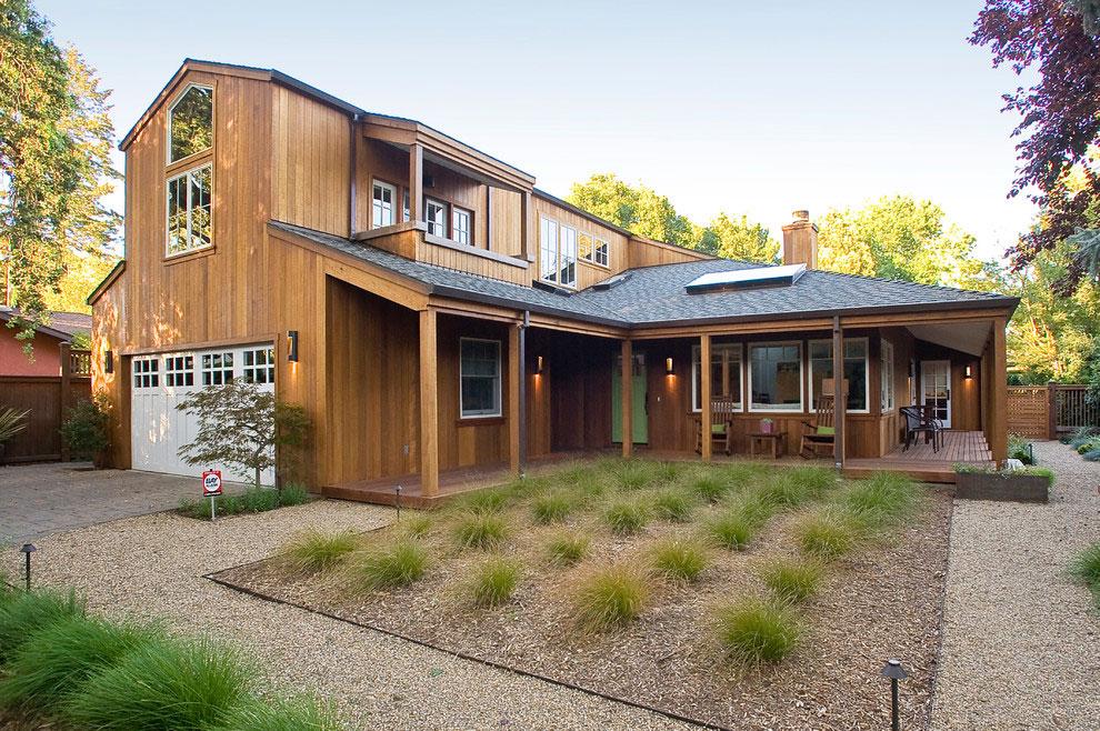Дом в калифорнийском стиле: реконструкция коттеджа от Marcus - Willers Architects