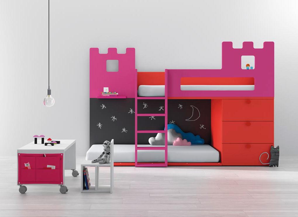 Яркая детская кровать из коллекции BM-2000