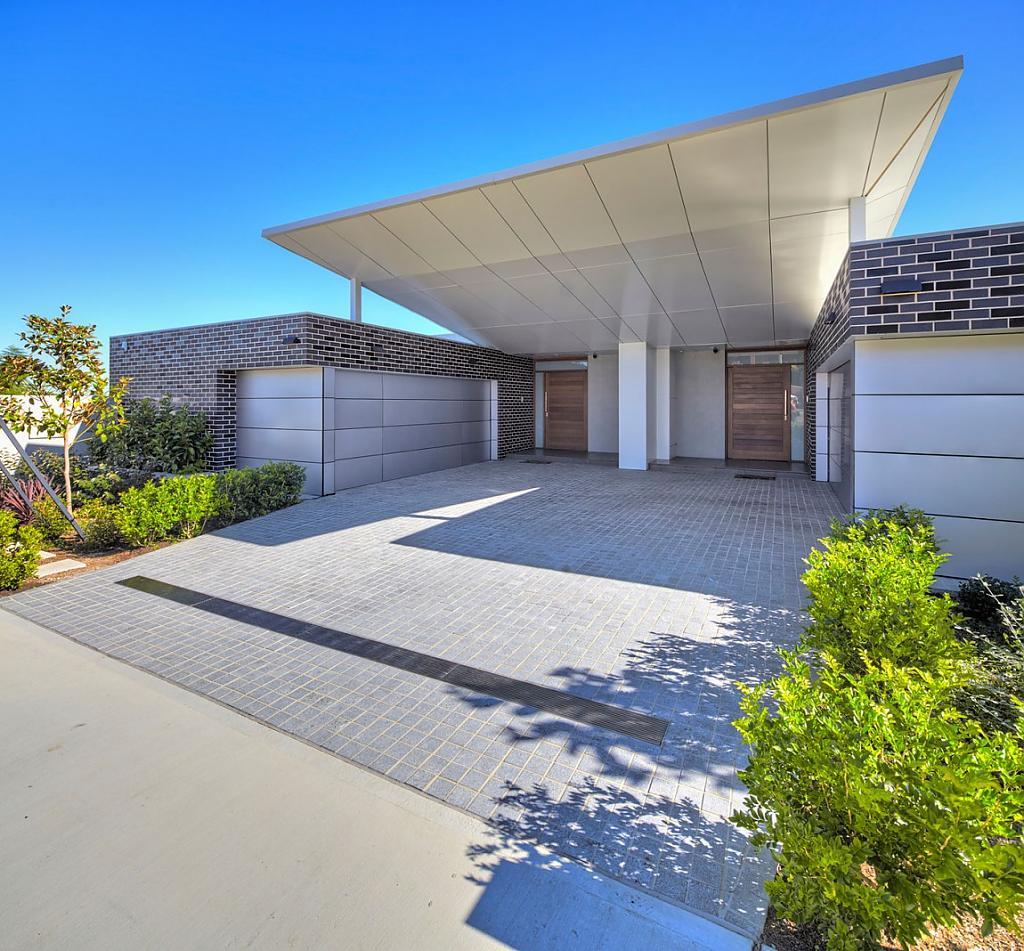 Проект дома с видом на реку в пригороде Сиднея
