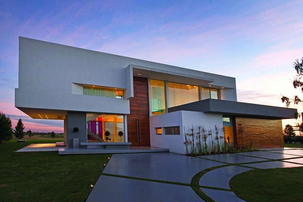 Авторские проекты современных домов: особняк от Vanguarda Architects