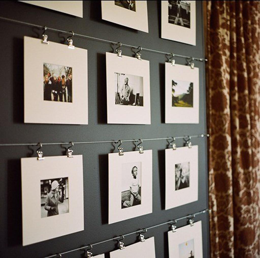 Стены своими руками фото