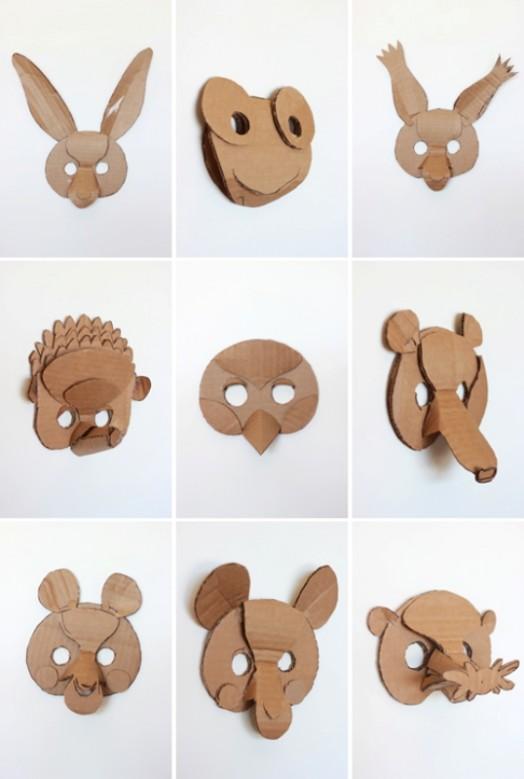 Смешные 3D маски - Дом украшаем своими руками, сюрпризы и подарки делаем сами - Форум-Град
