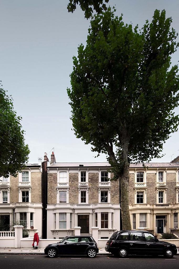 Дома в Англии: тщательная реконструкция классического лондонского особняка