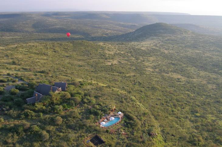 Отель Loisaba с высоты птичьего полета