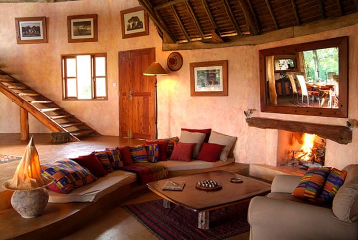 В номере отеля Loisaba