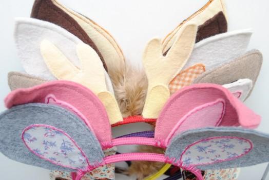Как сделать ушки кошки из фетра