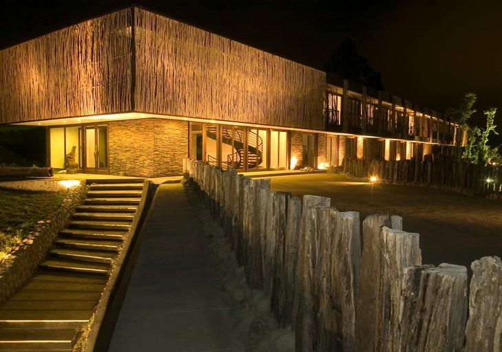Отель Patagonia ночью