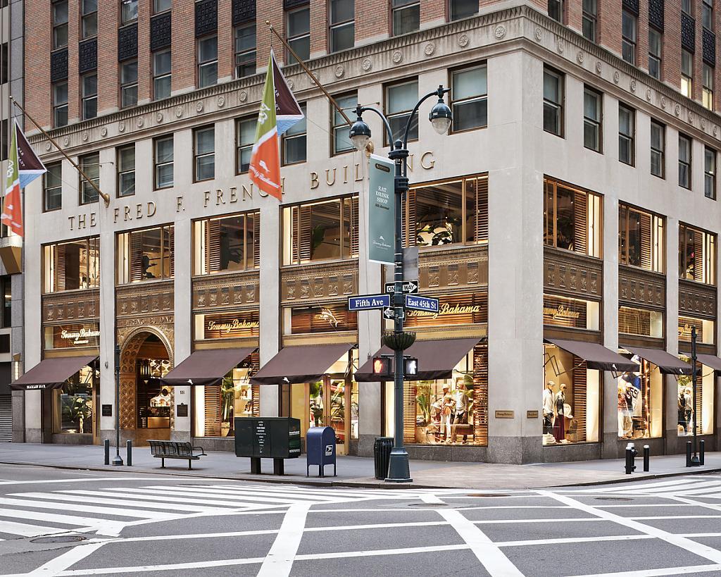 Магазин Tommy Bahama в Нью Йорке