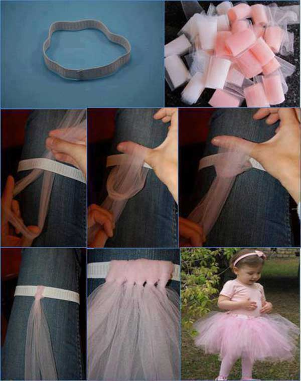 Как сделать юбку из фатина своими руками