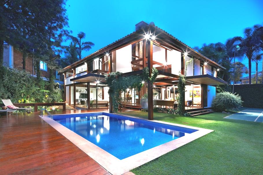 Дизайн личных апартаментов 80 Garden House от студии архитектуры и интерьера David Guerra, Belvedere, Belo Horizonte, Minas Gerais, Бразилия