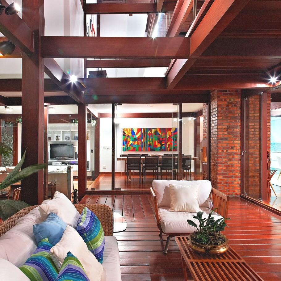Дизайн частной резиденции 80 Garden House в Бразилии