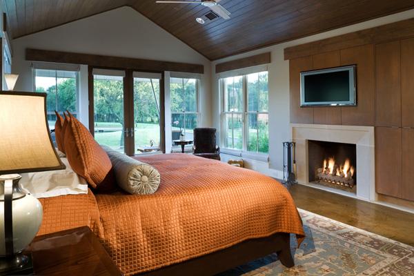 Спальня по проекту Bob Borson