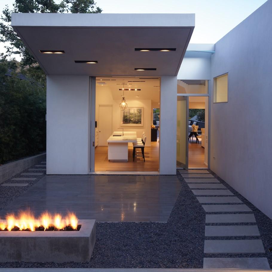 Роскошный дом на холме в Санта-Монике
