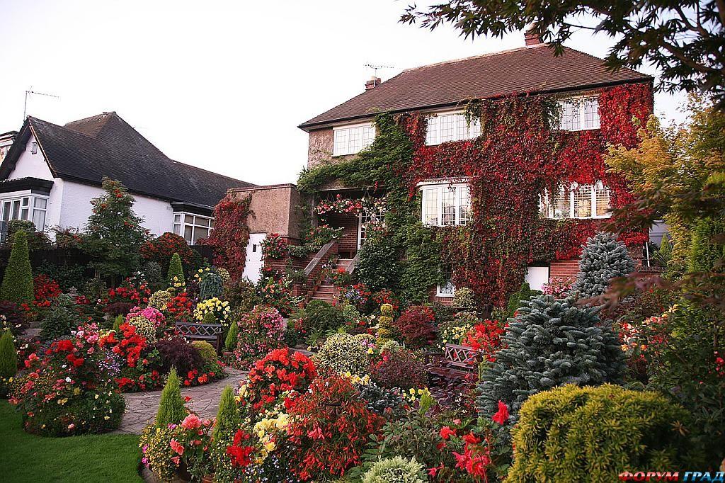 И выверенные формы английского сада