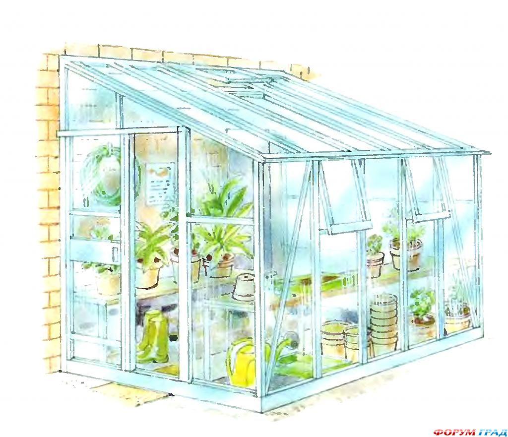 Мини-теплицы для рассады и передержки комнатных растений.