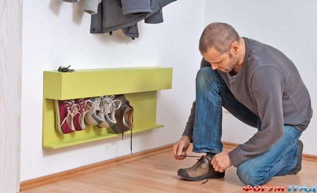 Своими руками мебель для обуви